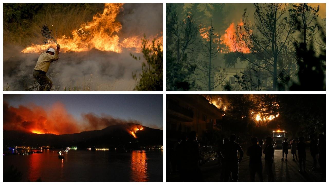 Yangınlar bitmiyor: Memleketten kayıp manzaraları...