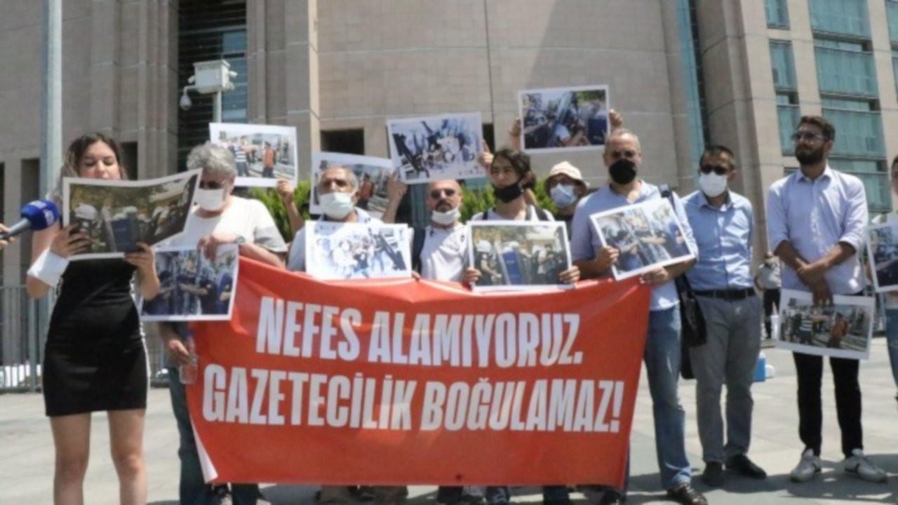 Polisin darp ettiği gazetecilerden suç duyurusu