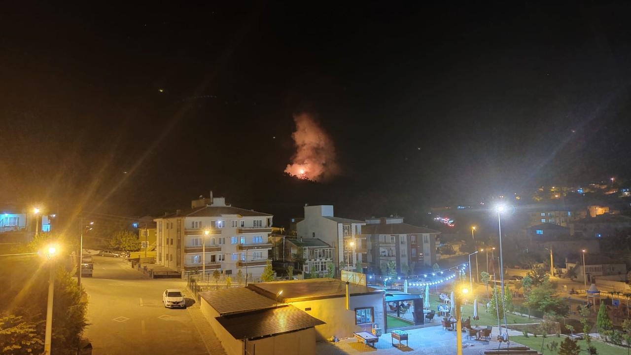 'Turgutlu'daki terör şüphelilerininyangınla irtibatına dair bilgi yok