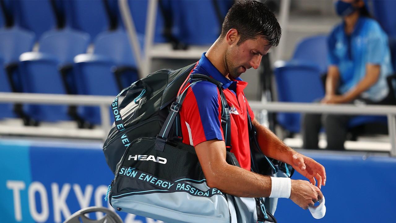 Djokovic olimpiyatlarda elendi, 'altın-slam' hedefi tutmadı