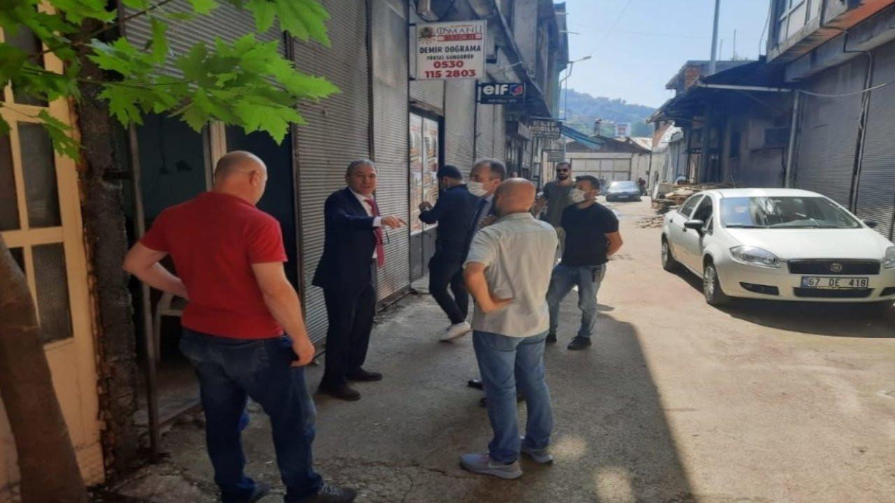 Zonguldak'taki yerel gazeteye kundaklama girişimi