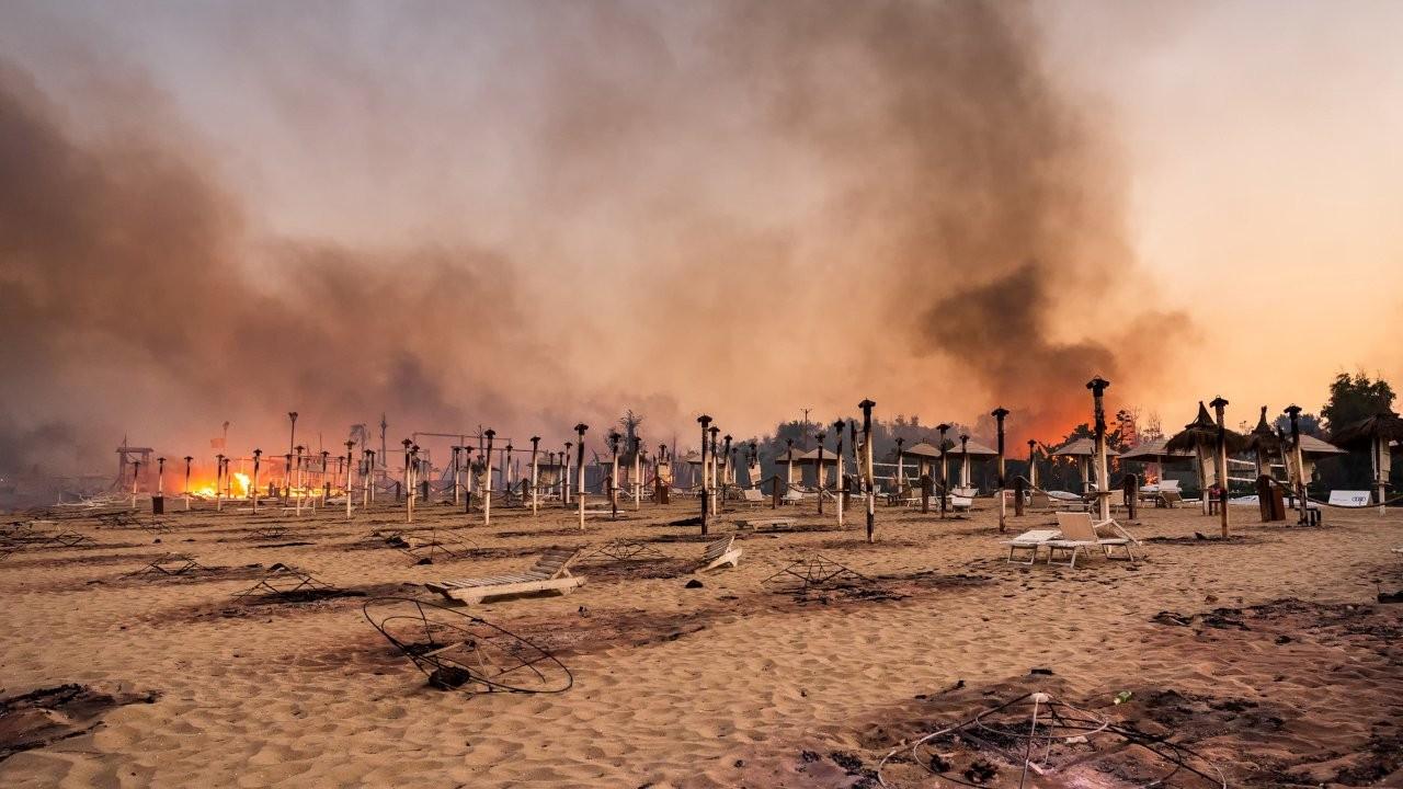 Sadece Türkiye değil: Akdeniz'de dört ülke yanıyor