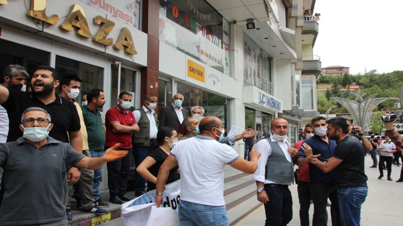 Konya'daki katliam Hakkari ve Dersim'de protesto edildi
