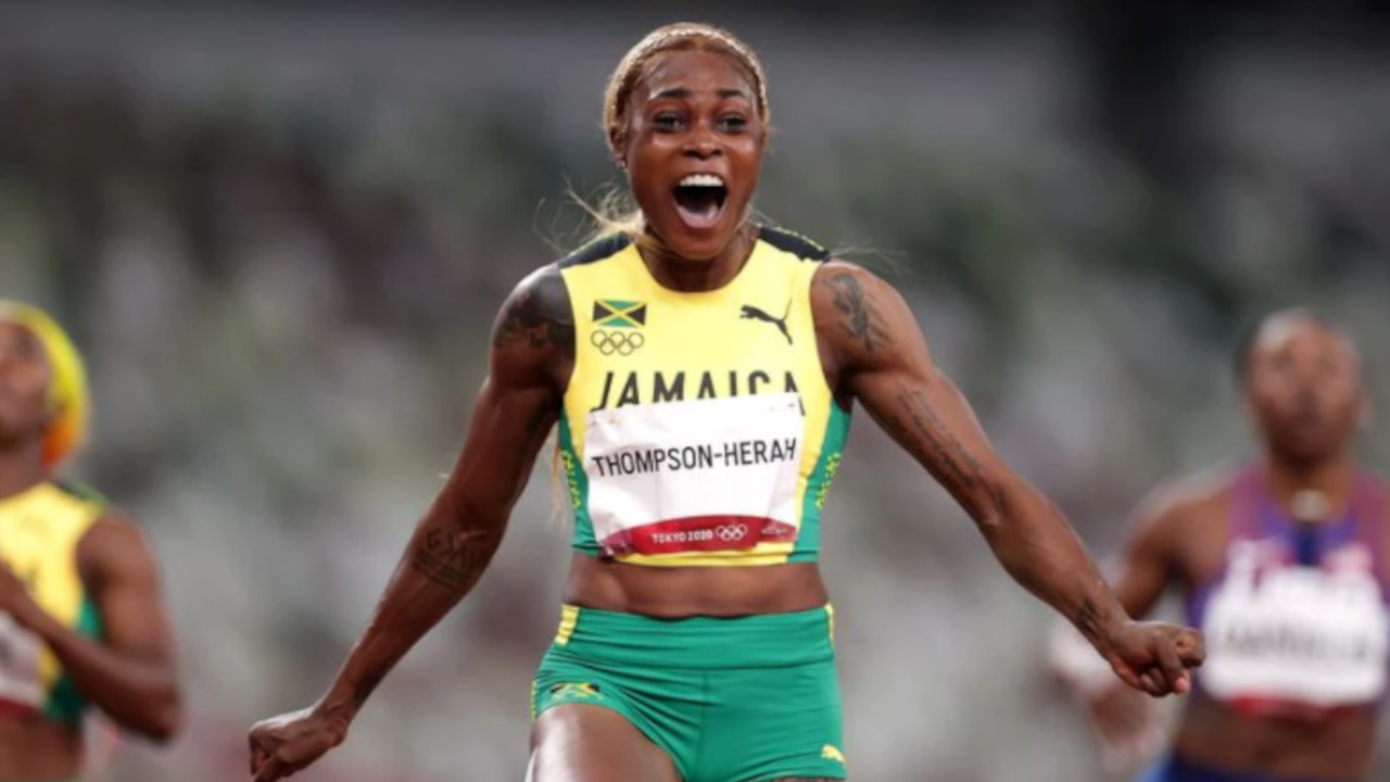 Kadınlar 100 metrede olimpiyat rekoru geldi