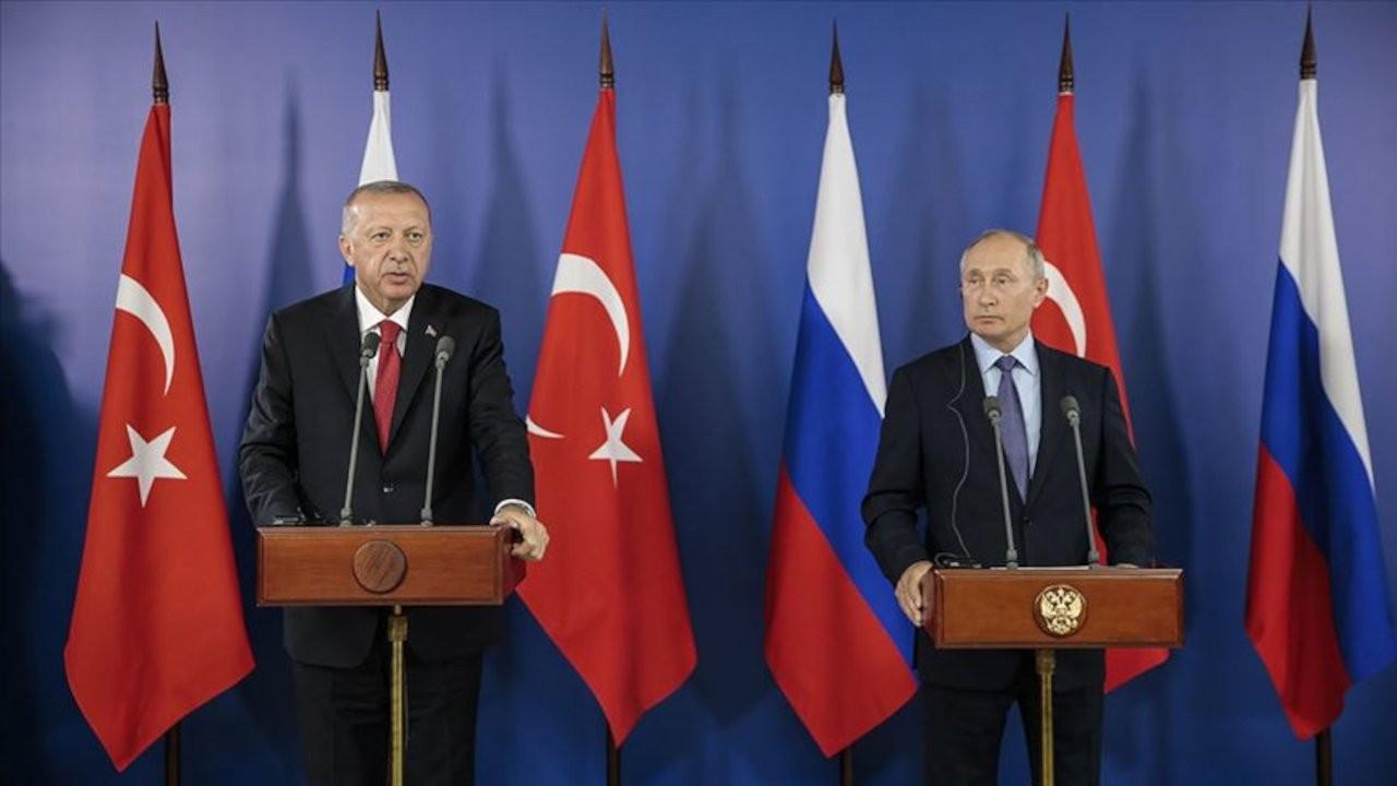 Erdoğan ile Putin, Türkiye'deki yangınları görüştü