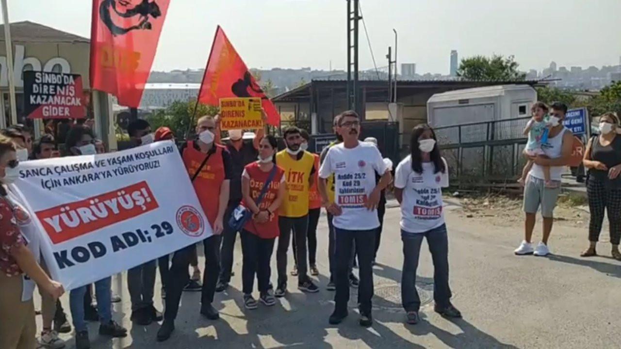 Kod 29 yürüyüşünde 7 kişi gözaltına alındı