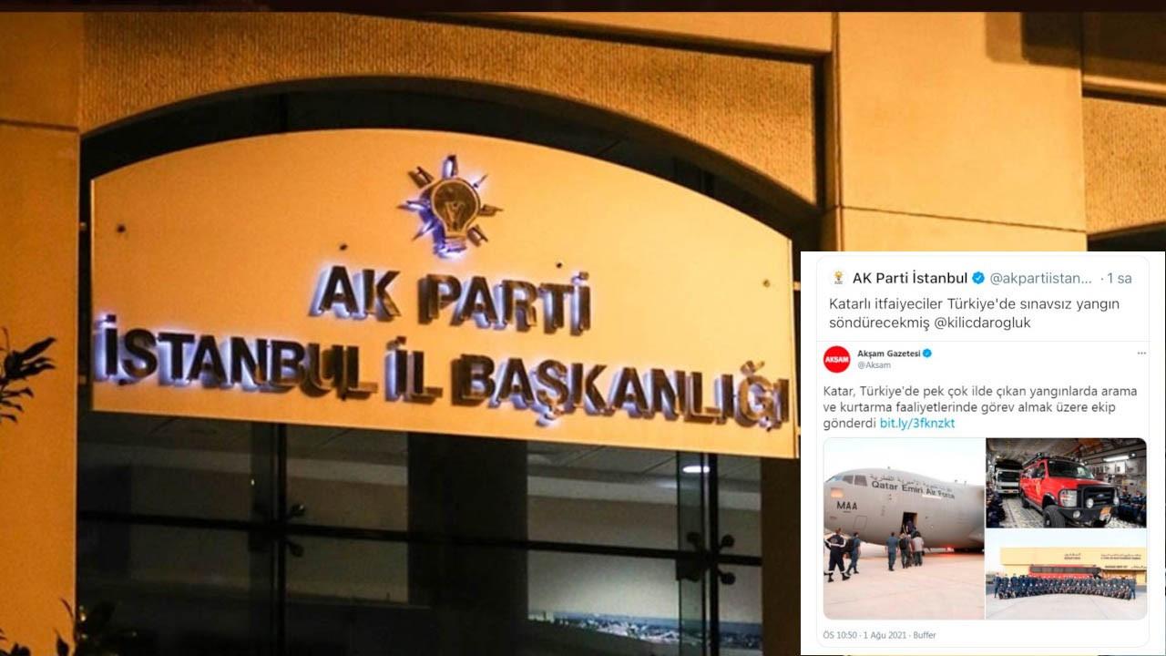 AK Parti İstanbul İl Başkanlığı, Kılıçdaroğlu'nu etiketlediği tweeti sildi