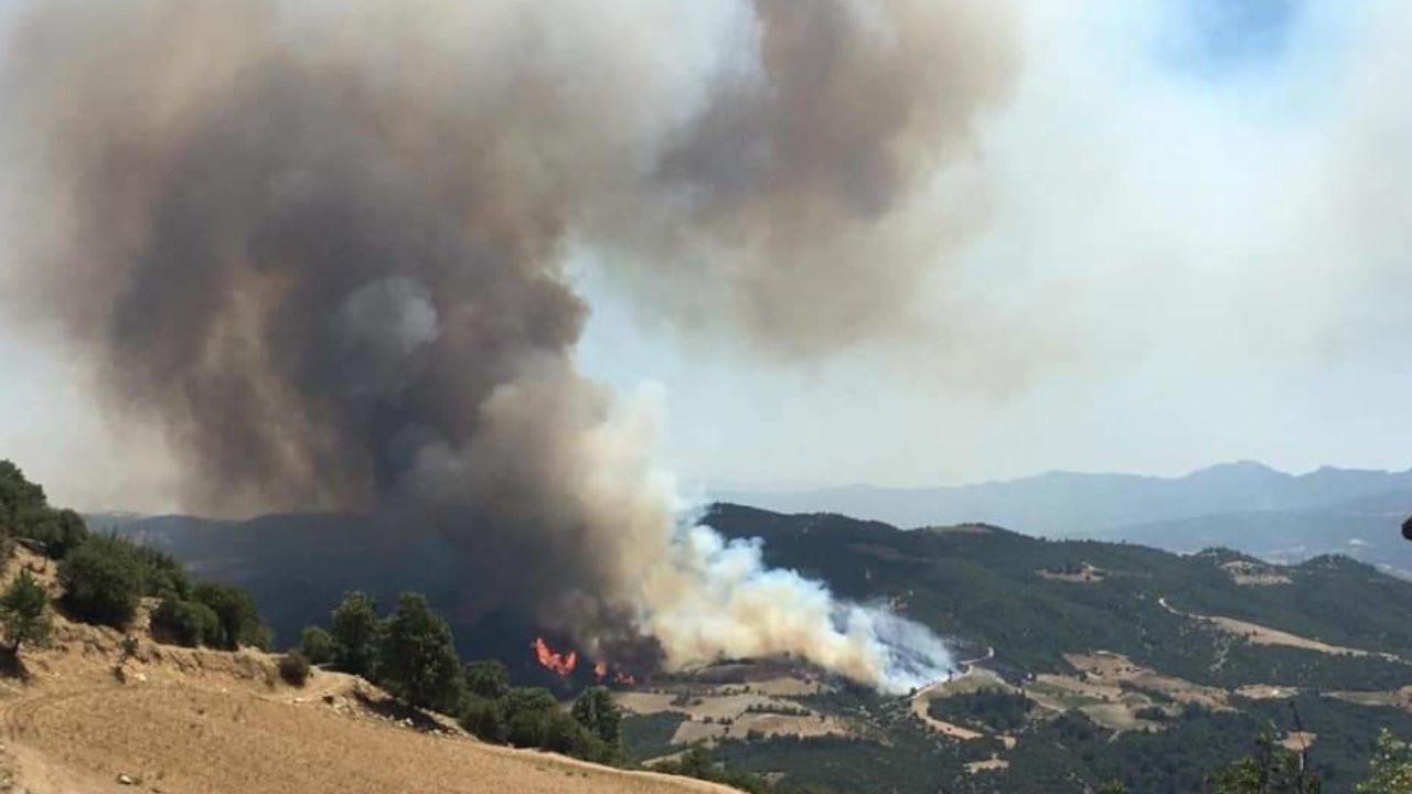 Denizli'de yangın: Bir mahalle boşaltılıyor