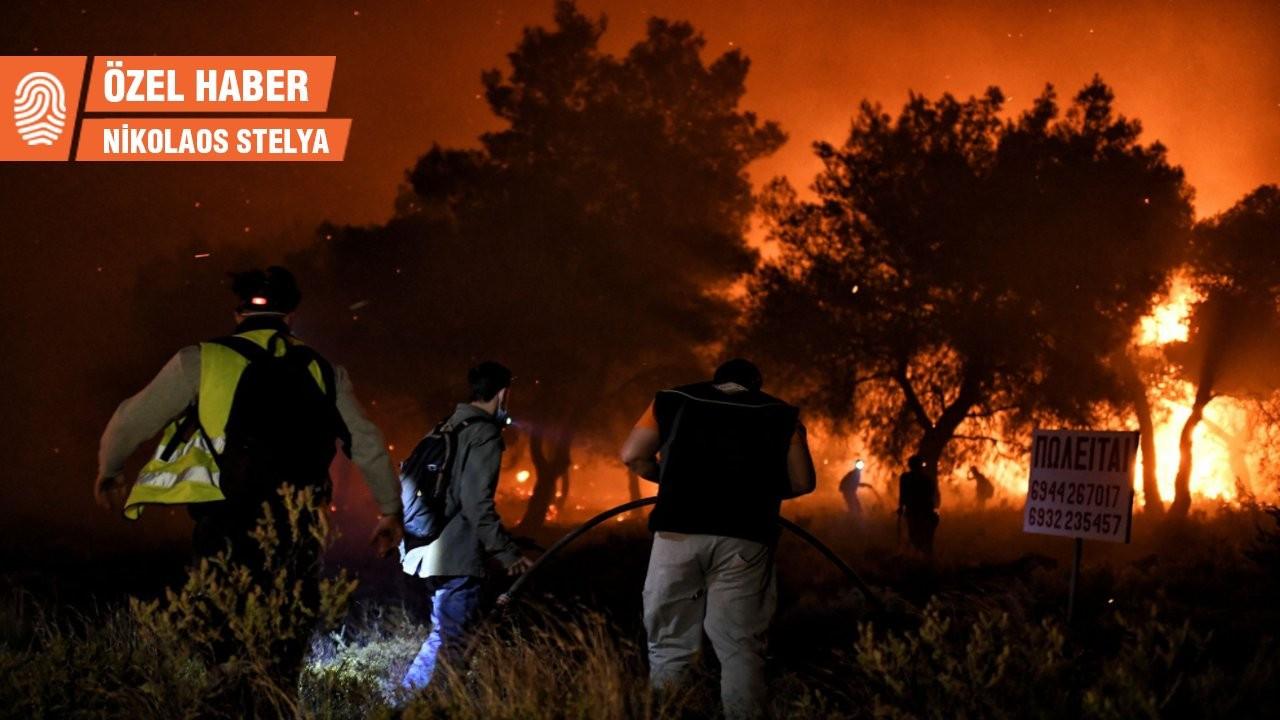 Orman yangıları sürerken Miçotakis'in deniz sefası tepki çekti
