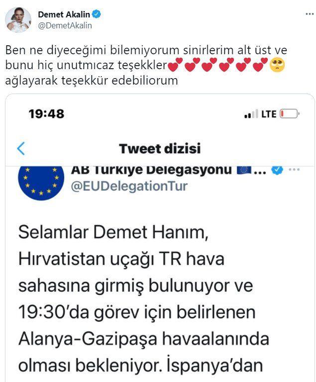 Avrupa Birliği Demet Akalın'ın sorusunu yanıtladı: Sosyal medyada gündem oldu - Sayfa 3