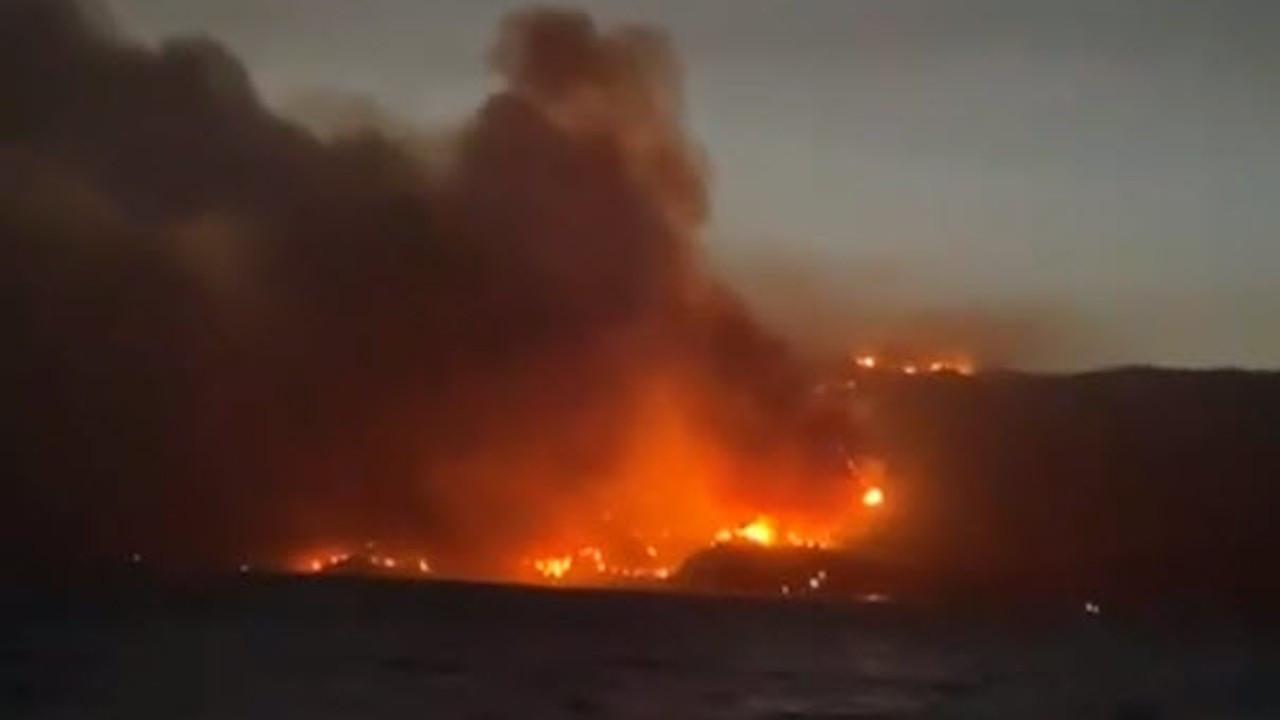 Muhammet Tokat: Termik santral yakınındaki yangın kontrol altında