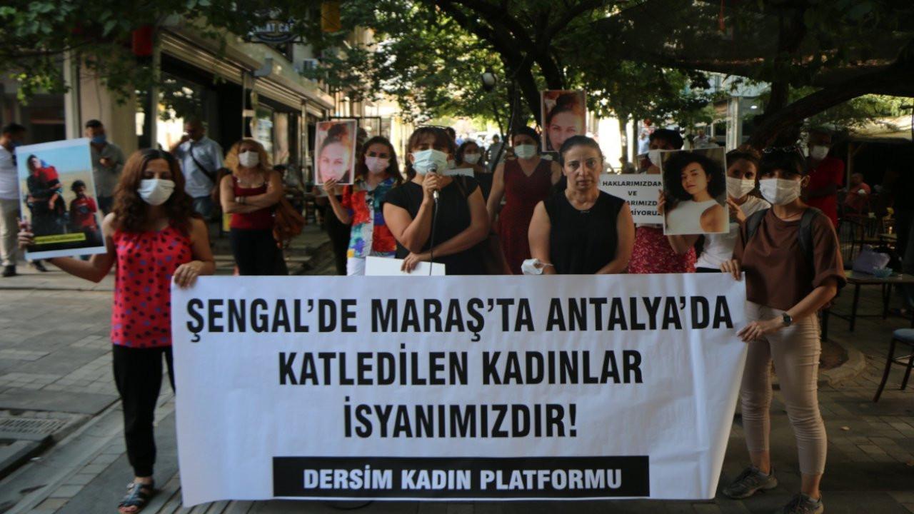 Dersim Kadın Platformu: AK Parti kadın katili oluyor