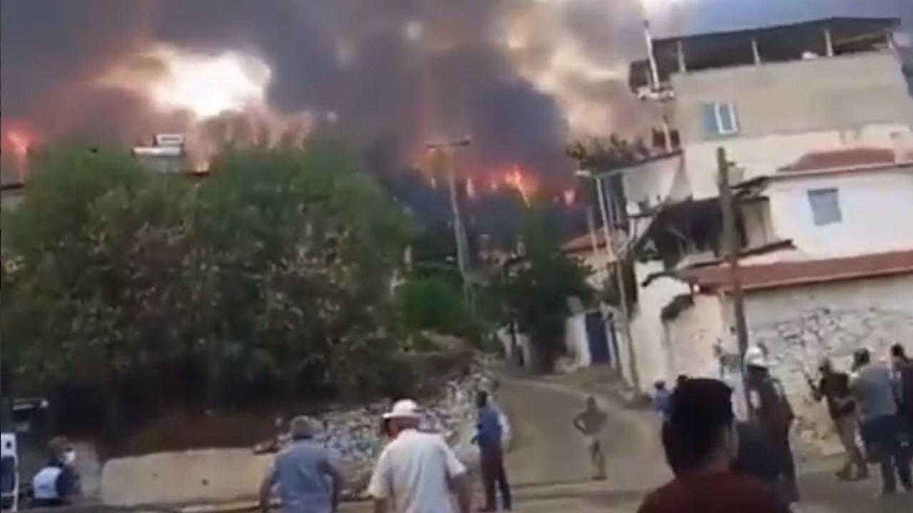 'Yangın evlere kadar ulaştı, Menteşe yardım bekliyor'