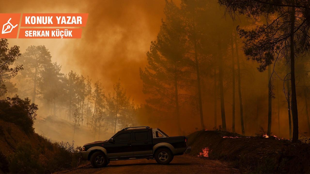 Arsa teslimi yangınla mücadele