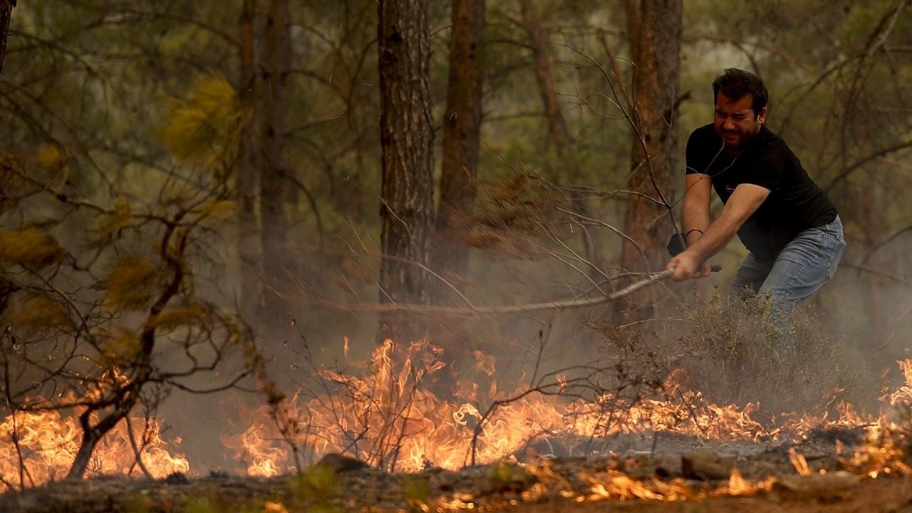 Manavgat bir haftadır yanıyor