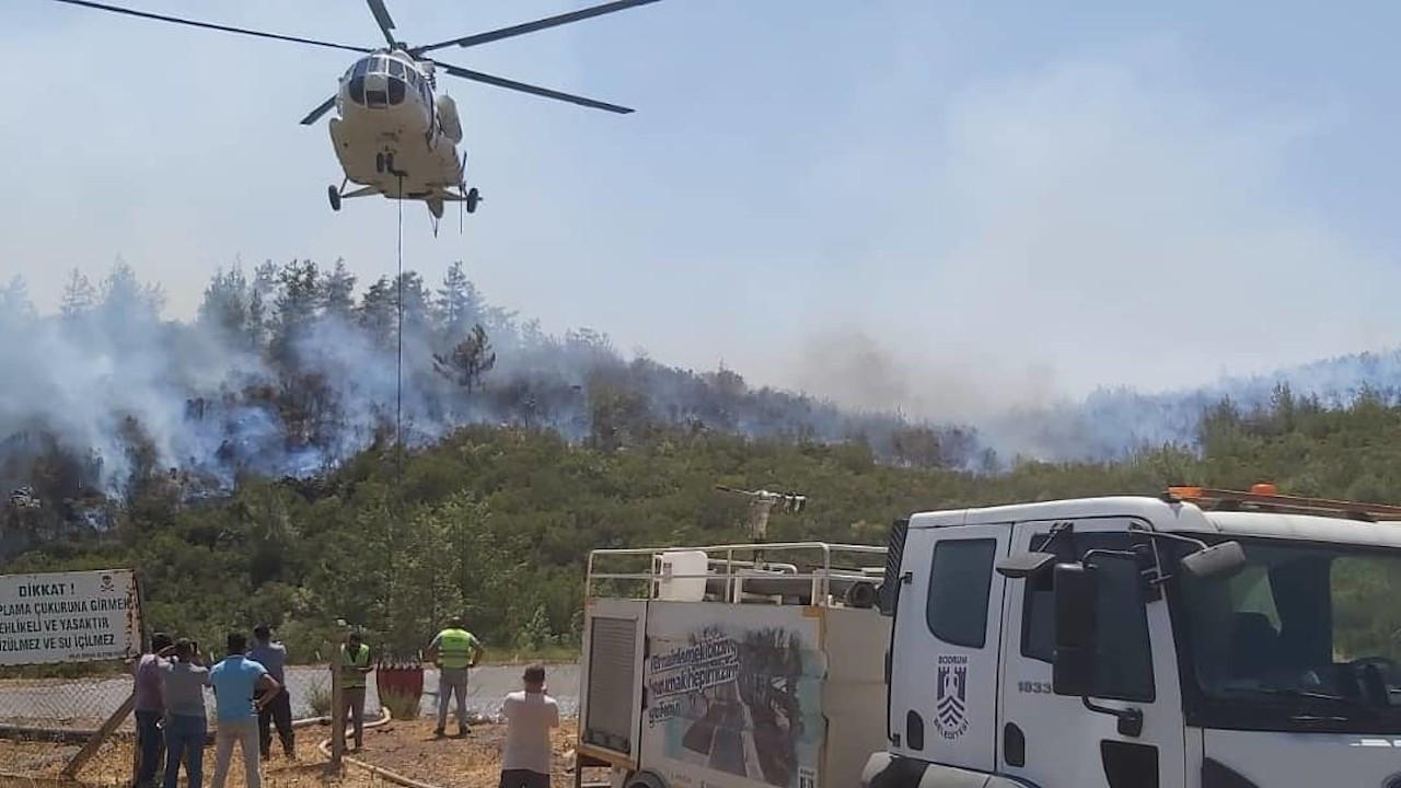 OGM: Yangın söndürme helikopteri düştü haberi asılsız
