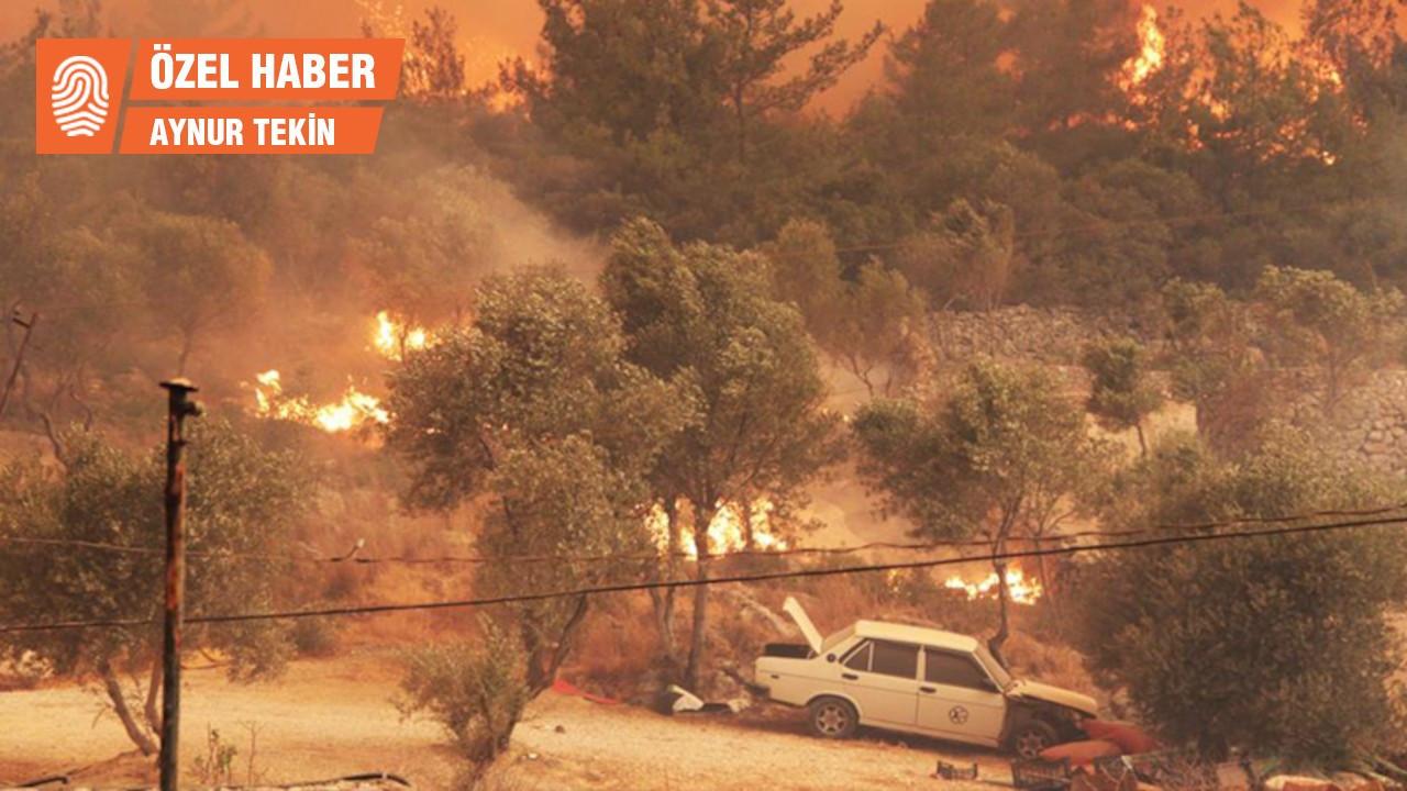 Bodrum yangını: Havadan destek olmazsa 3-4 gün daha sürer