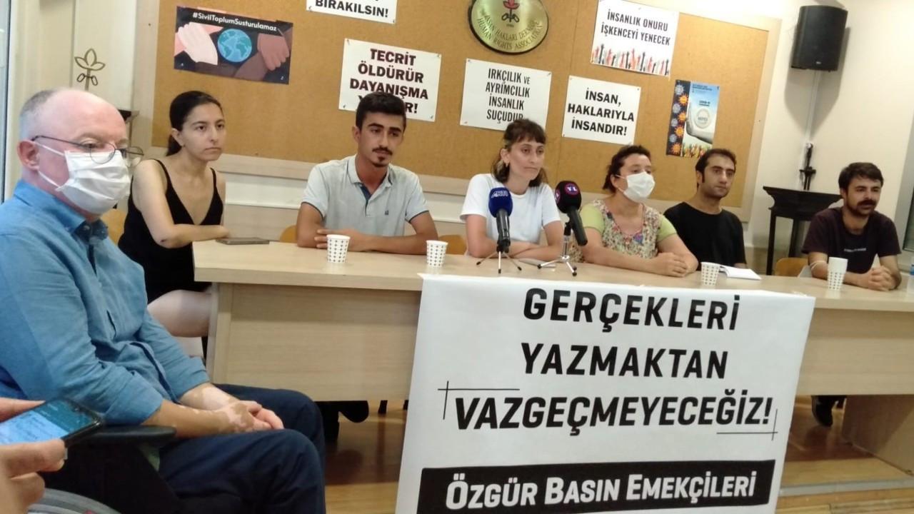 Gözaltına alınan gazeteciler: İşkence etmek için yolu uzattılar