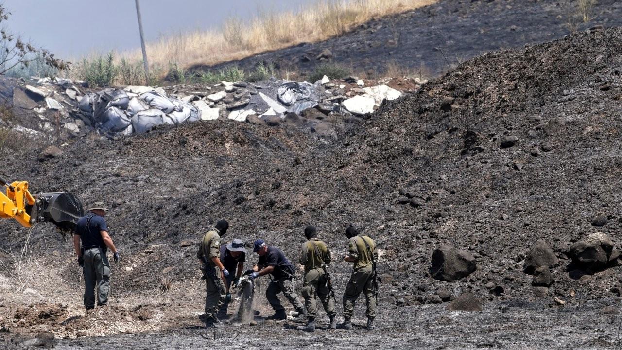 Lübnan sınırından İsrail'e roket saldırısı