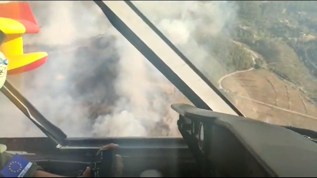 İspanya Büyükelçiliği: İki uçağımız bir günde 260 ton su attı