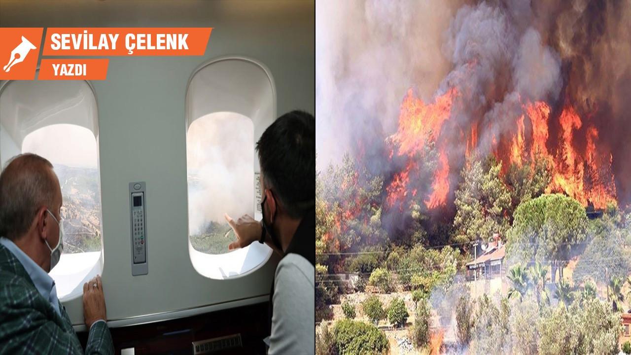Cayır cayır yanan bir ülkenin 'büyük resmi'