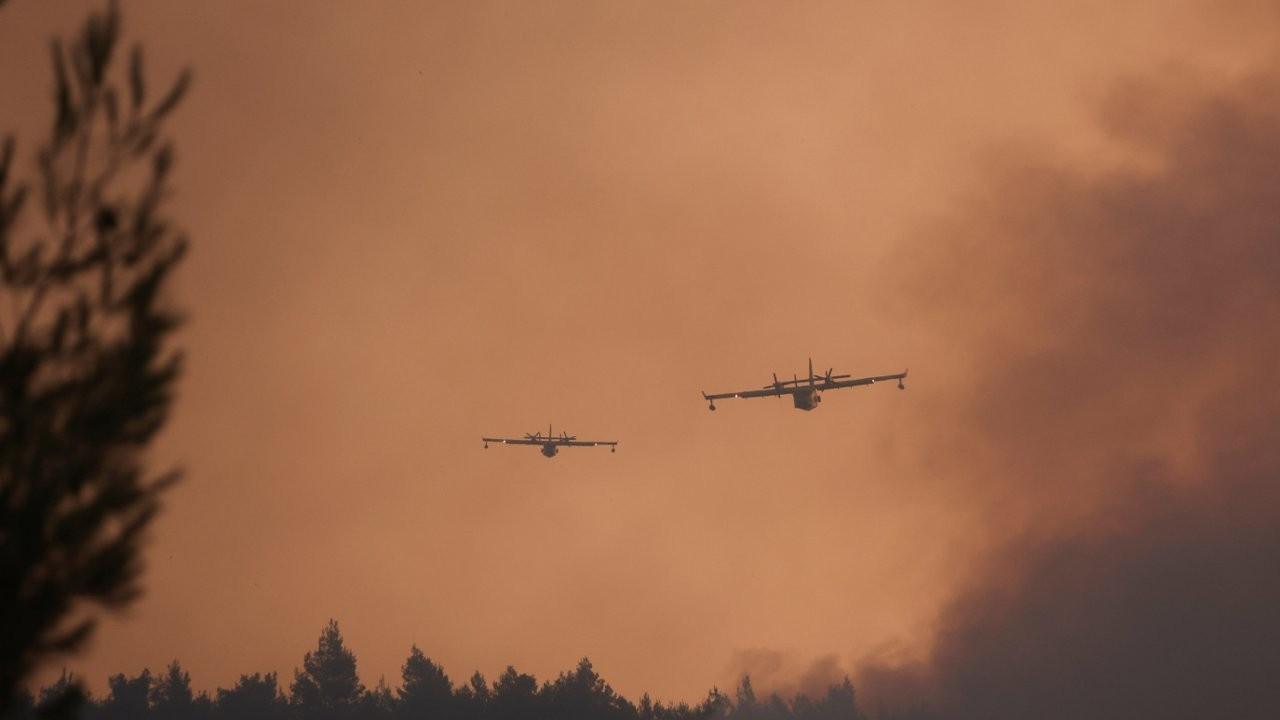 Yunanistan'daki yangınlar: Evia'daki keşişler manastırı terk etmiyor