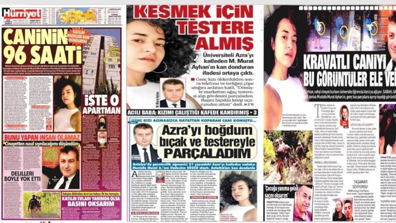 Faruk Bildirici: Azra'nın öldürülmesini kanlı bir pornografiye çevirdiler