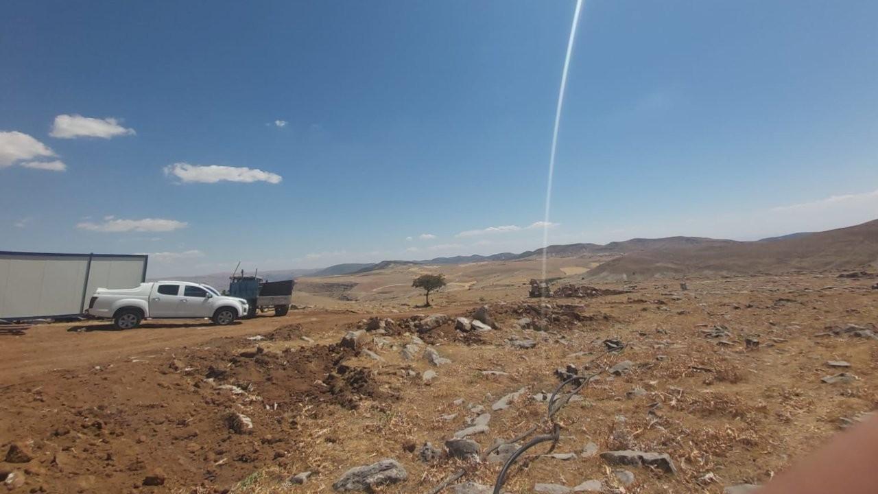Hozat'ta mermer ocağına tepki: Derhal durdurulmalı