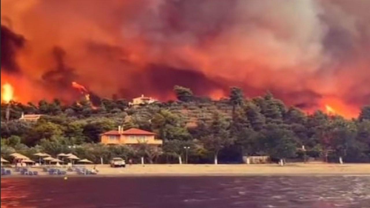 Yunanistan'daki yangınlar: Olympia antik kenti tehlike altında