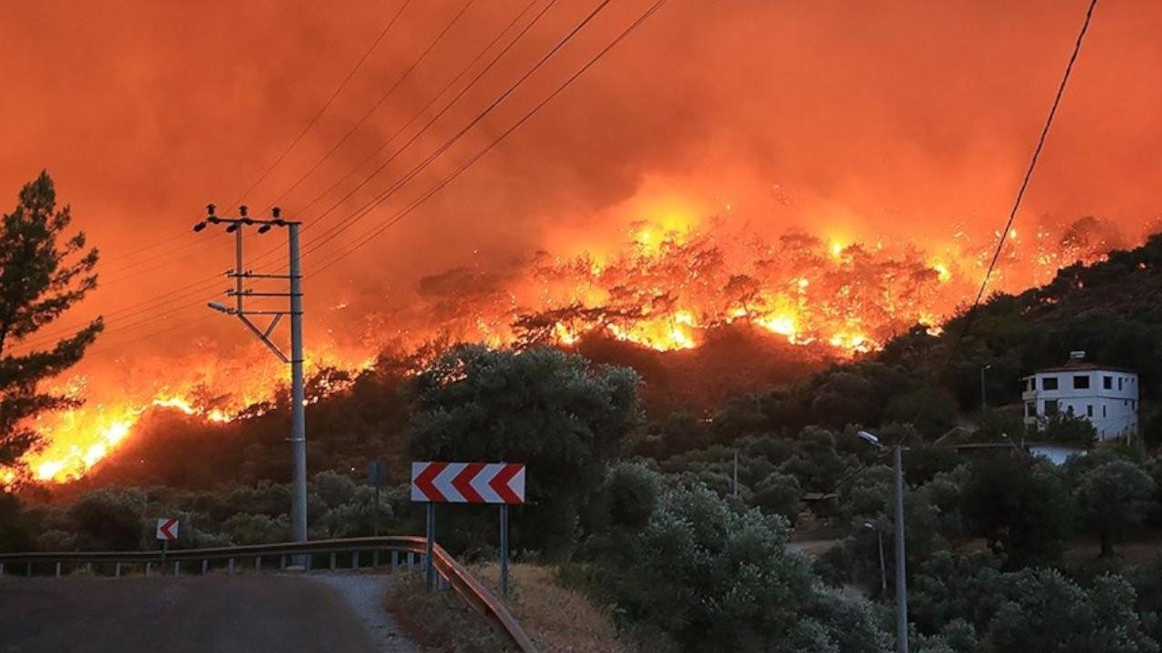 TYS: Yönetilemeyen ülkenin yönetilemeyen yangını söndürülemiyor