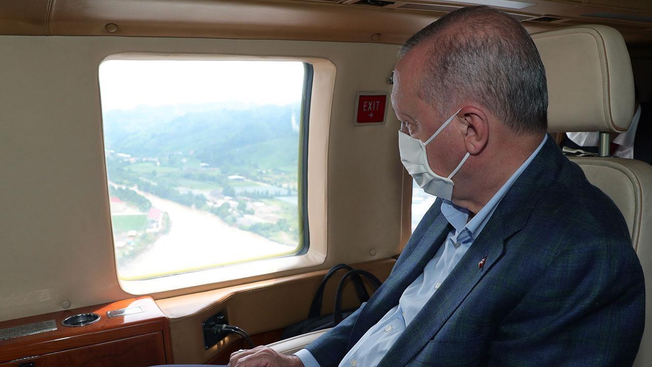 Cumhurbaşkanı Erdoğan'ın Trabzon ziyareti ertelendi