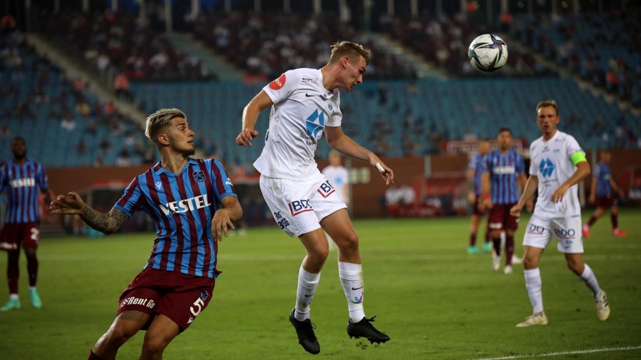 Trabzonspor, Norveç temsilcisi Molde ile 3-3 berabere kaldı