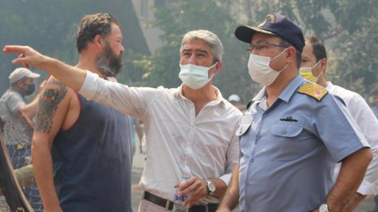 Marmaris belediye başkanı duyurdu: Yangın nihayet son buldu