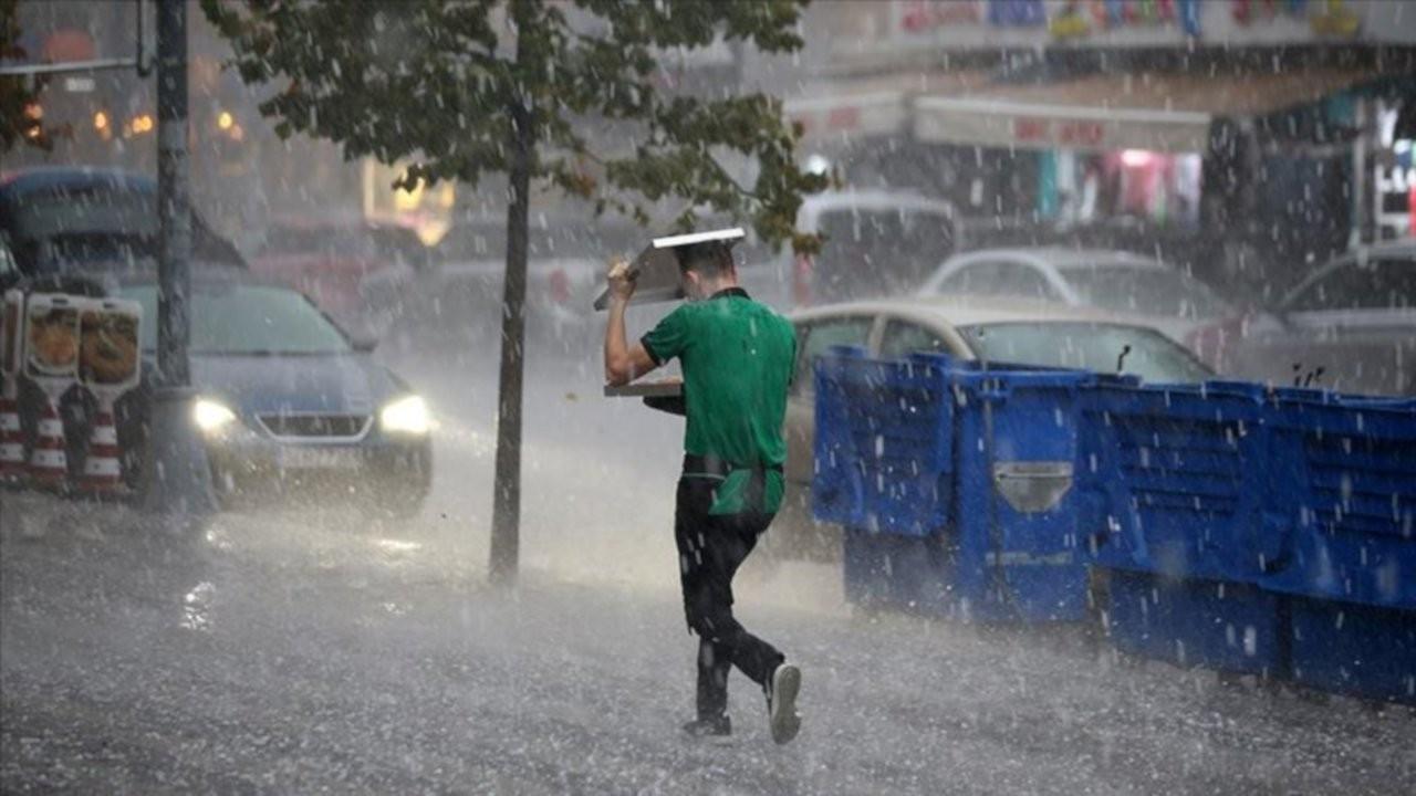 Meteoroloji'den sağanak uyarısı: Türkiye'nin büyük bölümünde etkili olacak