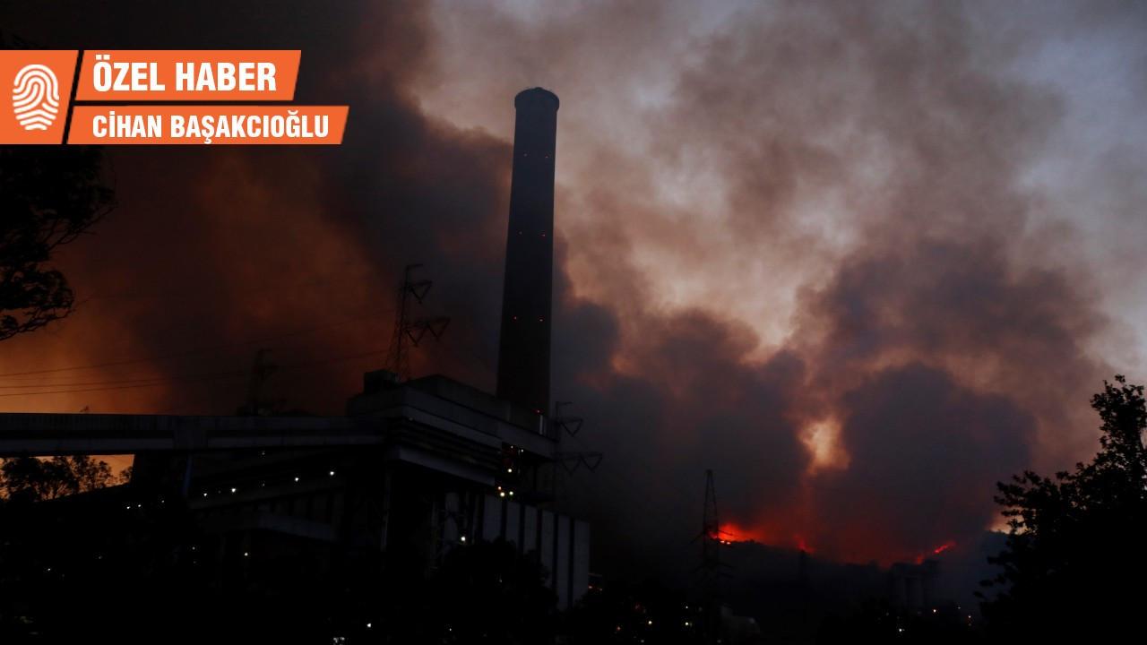 Yangında tahrip olan Kemerköy Termik Santrali'nin 37 yıllık öyküsü