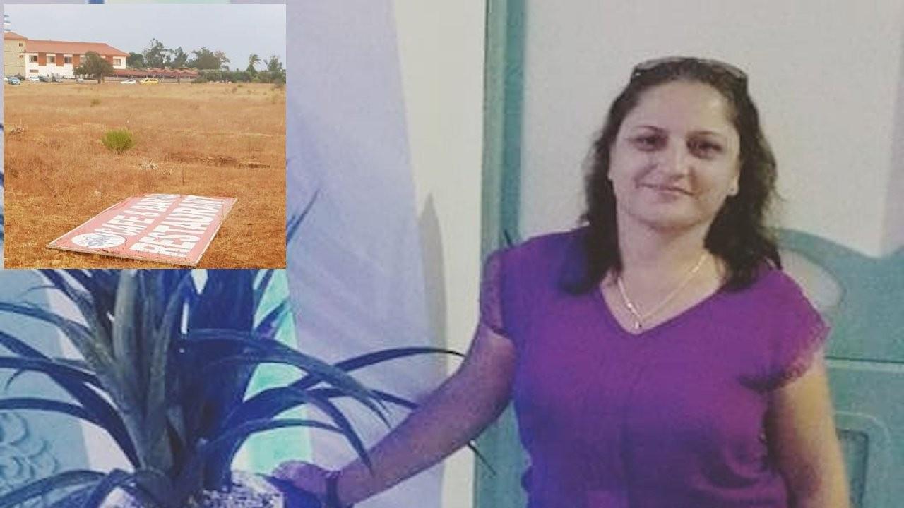 Yürüyüş yaparken kafasına tabela düşen kadın öldü