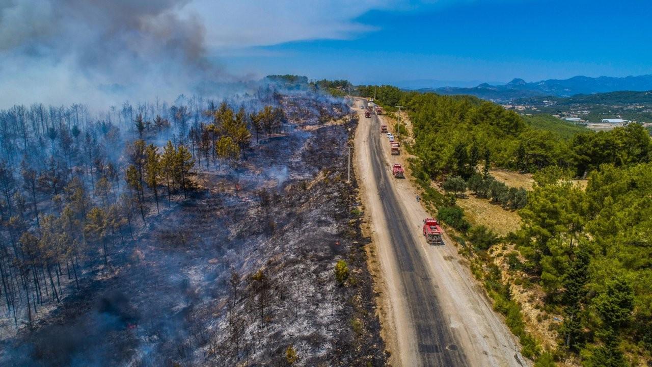 Orman yangınlarıyla ilgili paylaşımlar için 66 kişiye adli işlem
