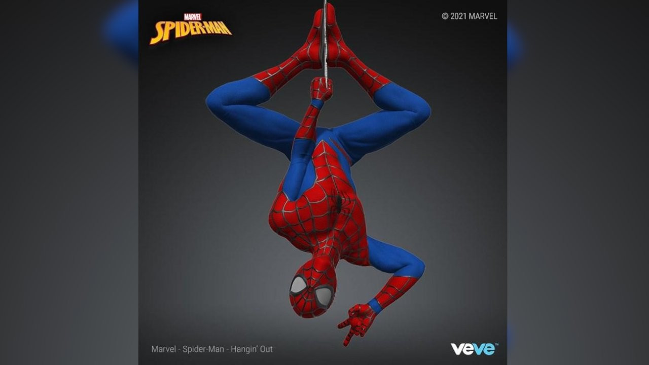 Marvel, NFT satışına başlıyor: Örümcek Adam NFT oldu