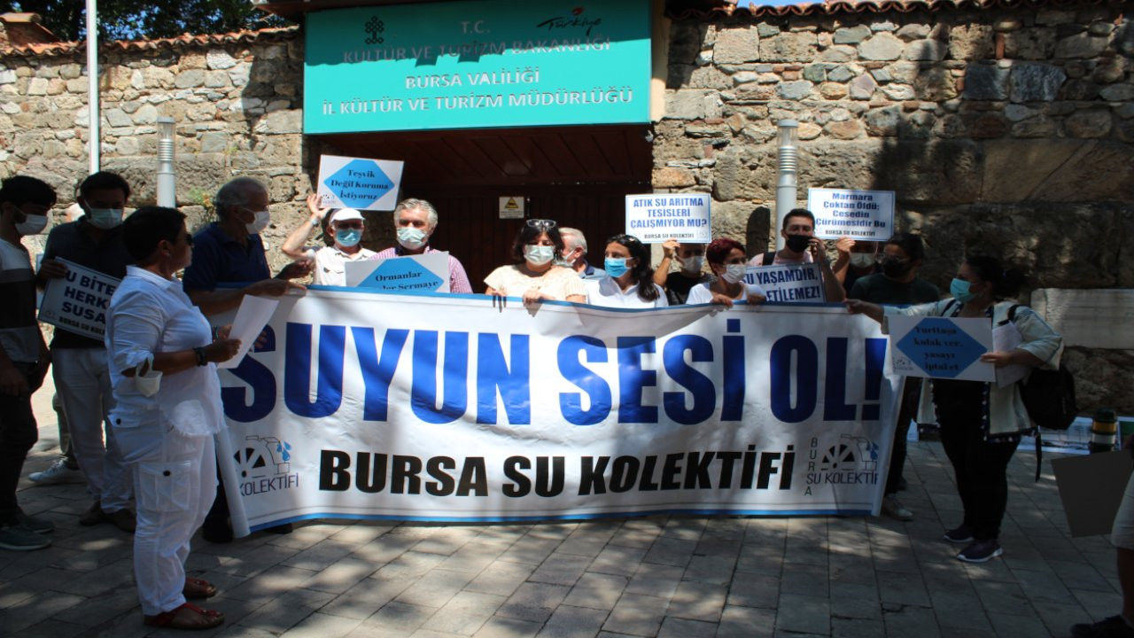 Bursa Su Kolektifi: Turizm Teşvik Kanunu iptal edilmeli