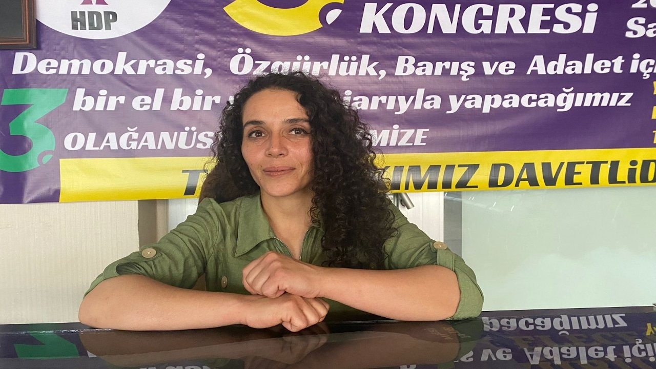HDP Muş İl Eşbaşkanı Nergiz gözaltına alındı