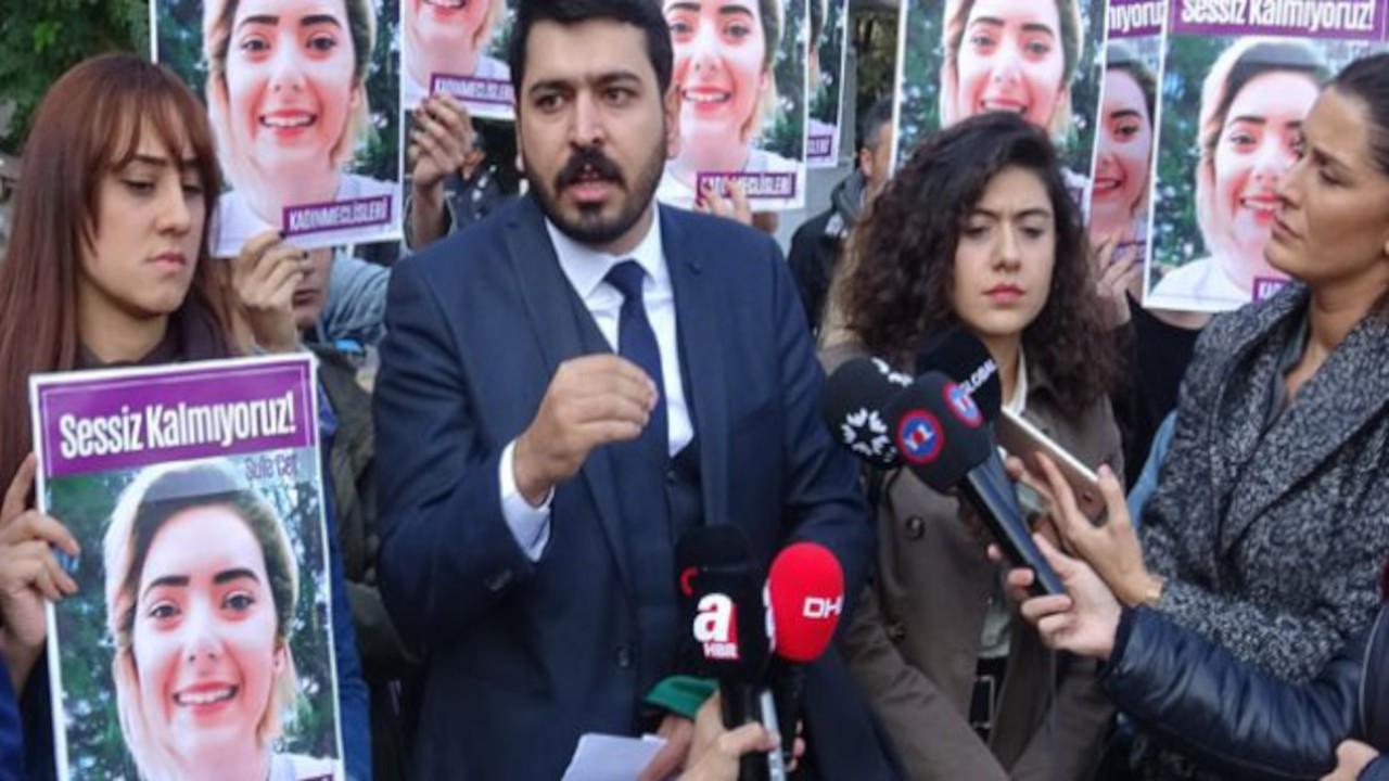 Şule Çet davası avukatına 3 ay uzaklaştırma