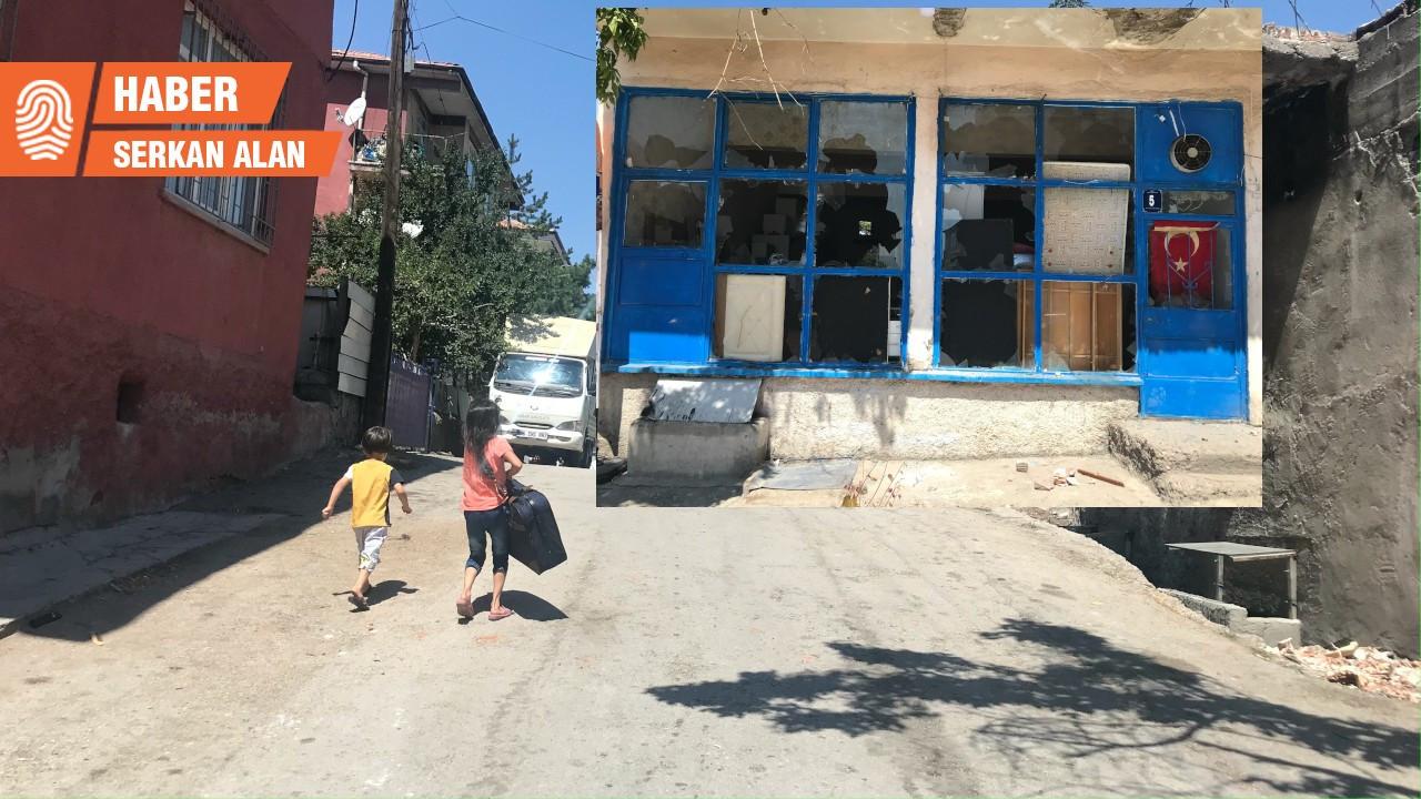 Altındağ'da tahribat büyük, Suriyeliler evlerini terk ediyor