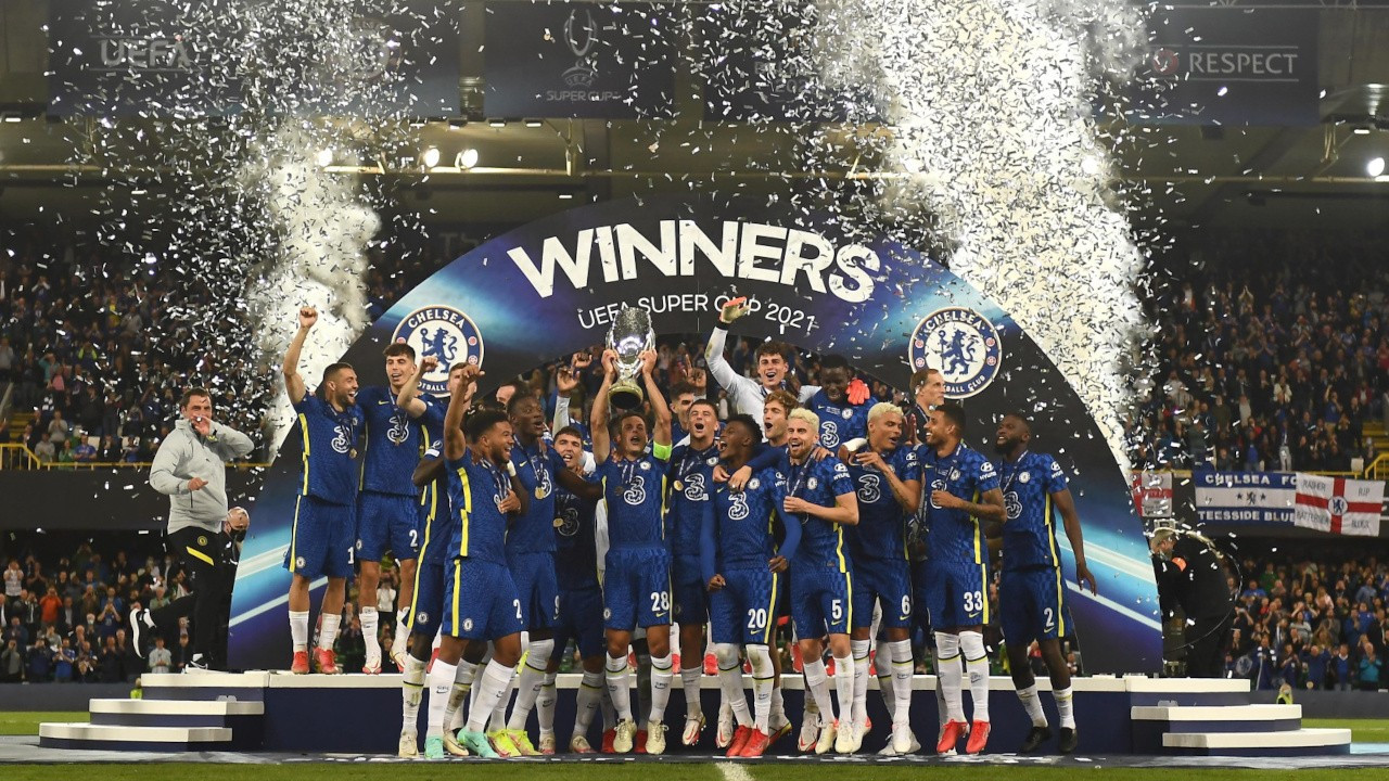Chelsea, Süper Kupa'yı penaltılarla aldı