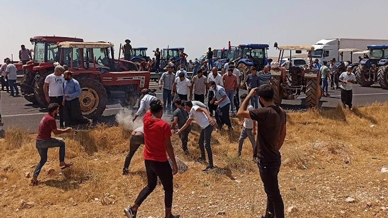 Tanal: 'AK Parti istifa' sloganı atan 18 çiftçi gözaltına alındı