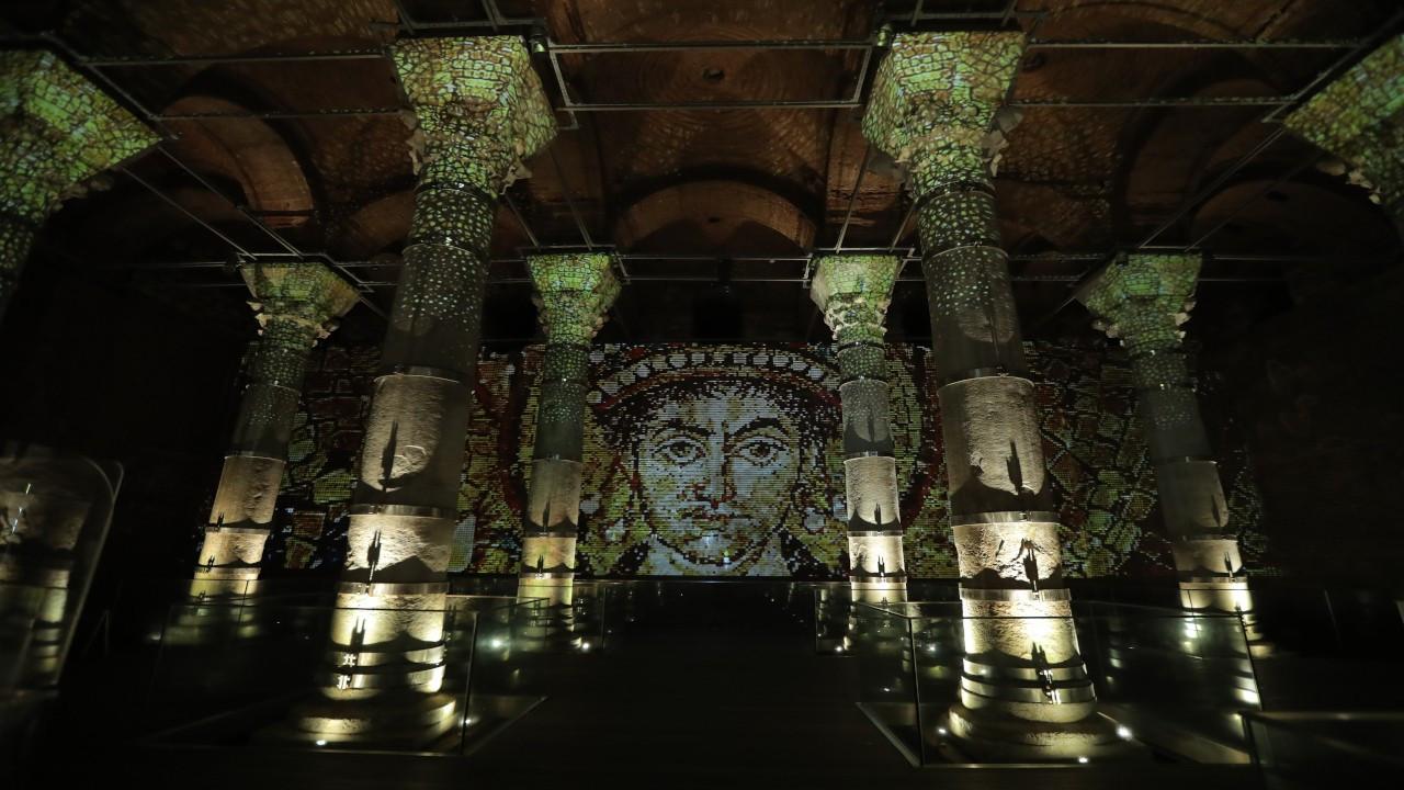 Teknolojiyle tarihi buluşturan müze: Şerefiye Sarnıcı