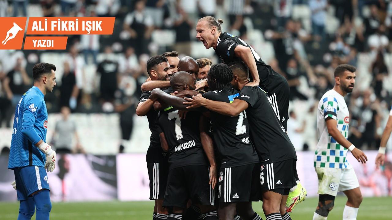 Beşiktaş sıvasız, ama 3-0
