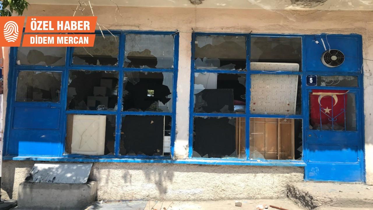 'Cihatçılar basacak diyenler Altındağ'da tekbirli saldırıları izledi'