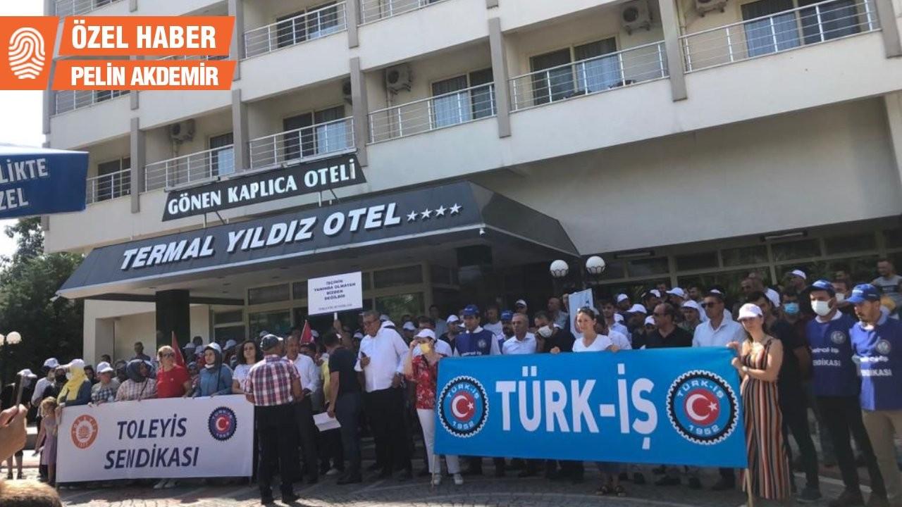 Ücretsiz izin, belediye ve işçileri karşı karşıya getirdi