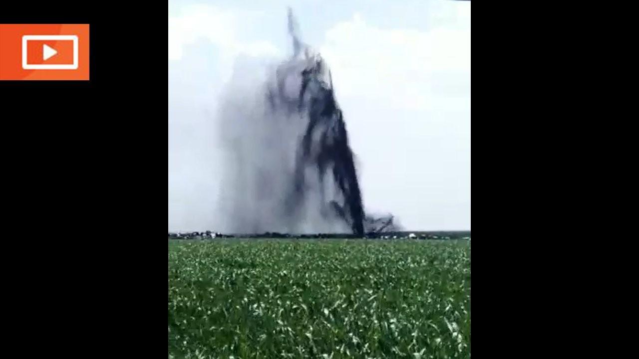 Siverek'te petrol boru hattı delindi