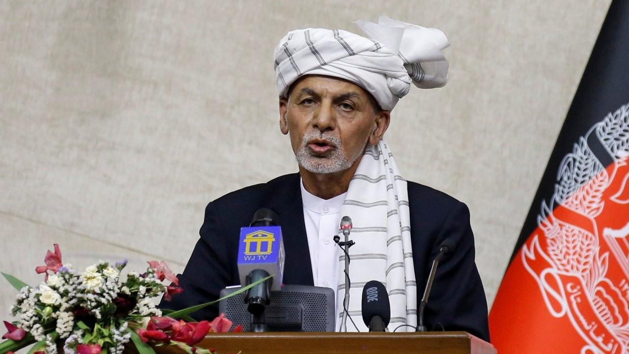 Afganistan Cumhurbaşkanı Gani: Ülkemi savunmaya devam edeceğim
